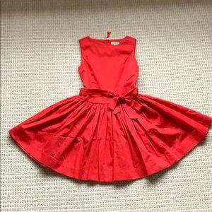 JCrew Girls' tie-waist dress, size 7